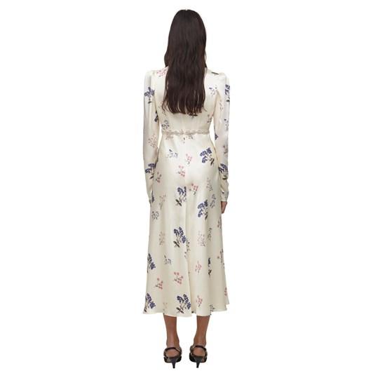 Self Portrait Vintage Floral Midi Dress