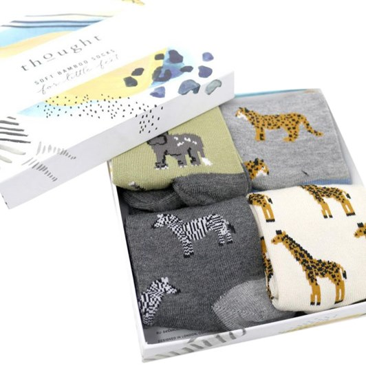 Thought Zoological Kids Sock Box