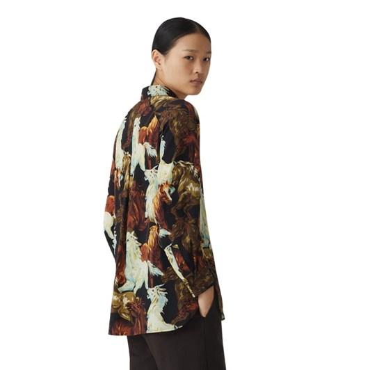 KENZO Chevaux Tunic Shirt
