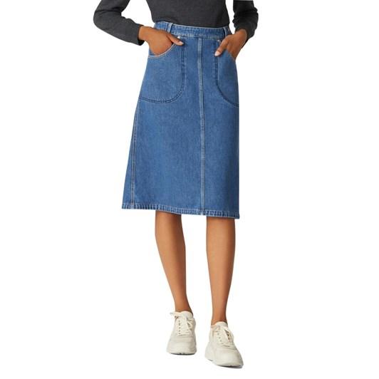 KENZO Denim Midi Skirt