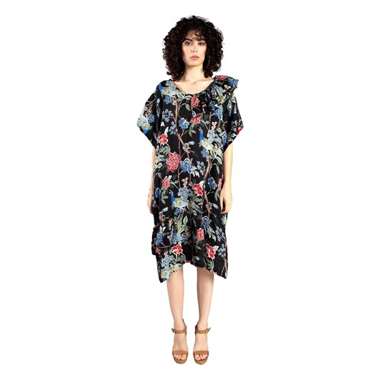 Curate Ruffle Feathers Dress