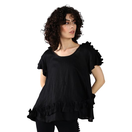 Curate Ruffle Of Love Top