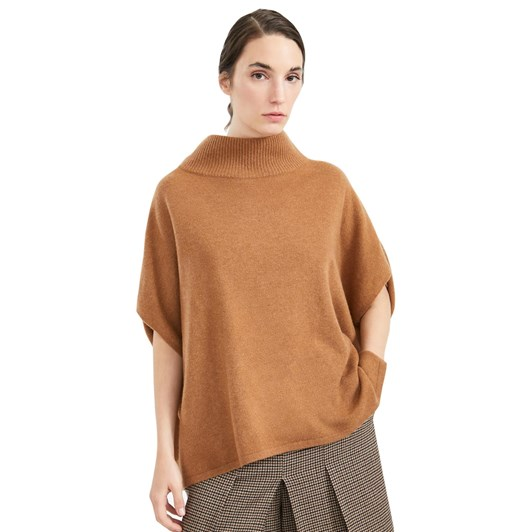 Weekend Max Mara Cubano Cape Wrap Poncho