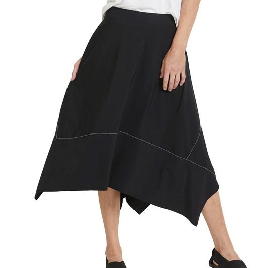 Paula Ryan Handkerchief Hem Panel Skirt