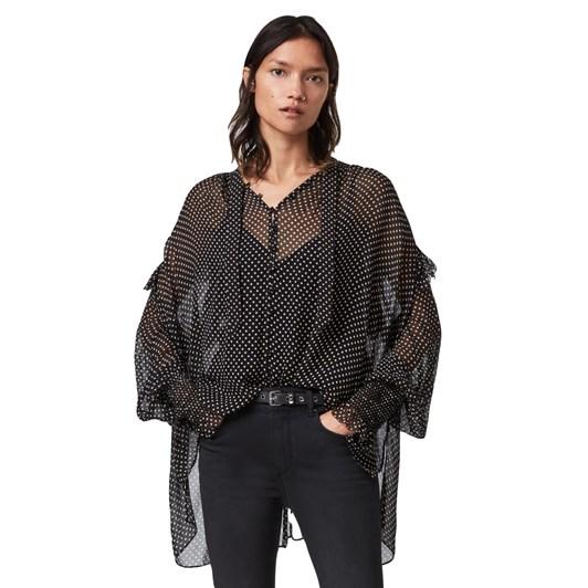 AllSaints Lara Dot Shirt