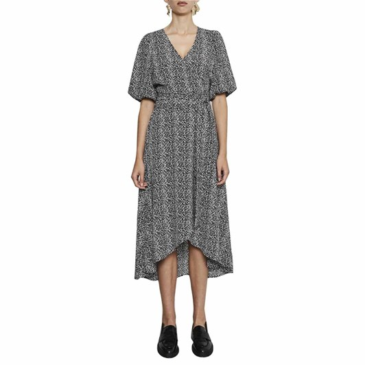 Notes Du Nord River Recycled Wrap Dress