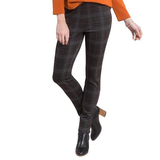 Vassalli Super Skinny Leg Full Length Printed Ponti Pull On