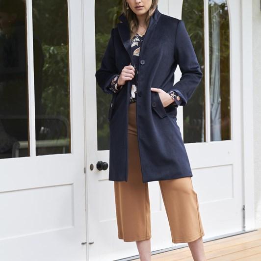 Vassalli Long Winter Coat With Lining