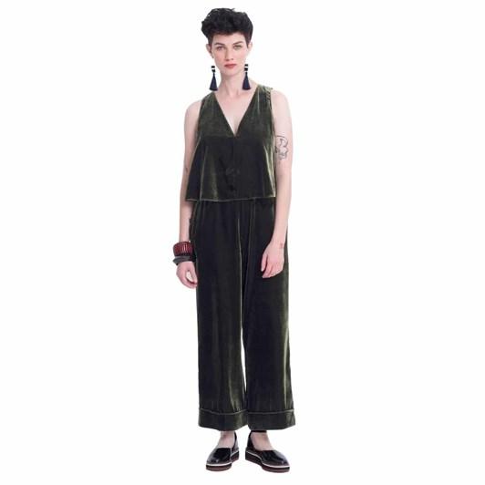 Elk Luxe Velvet Jumpsuit