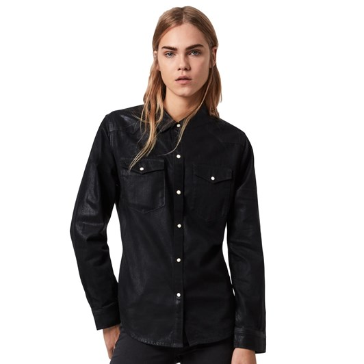 AllSaints Hazel Coated Shirt