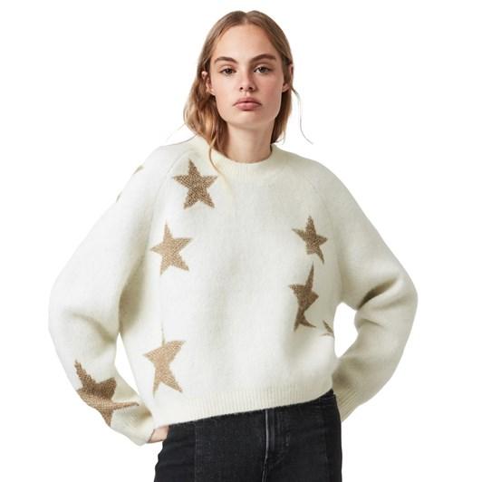 AllSaints Star Jumper