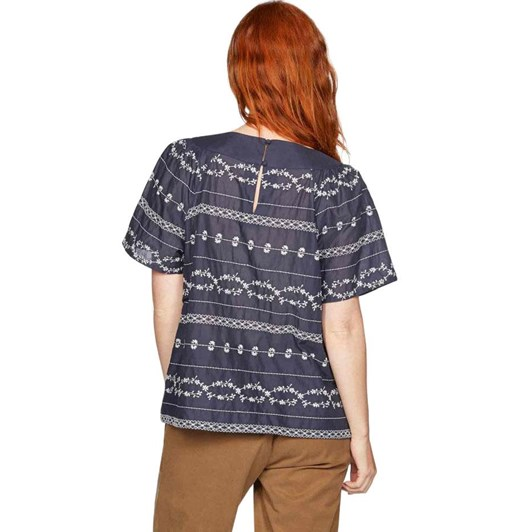 Thought Valentina Embroidered Top