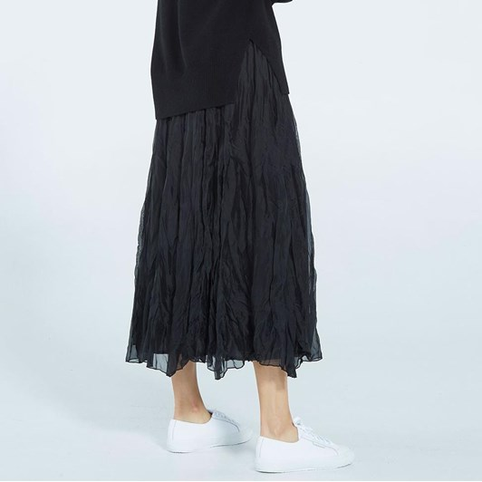 Caroline Sills Fabiola Silk Skirt