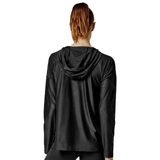 Running Bare Top Marks Workout Hoodie