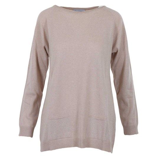 Ellemme Crew Neck Tunic With Pockets