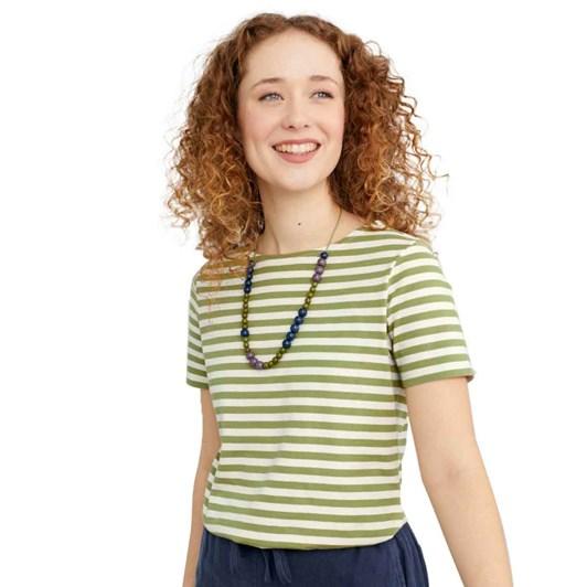 Seasalt Sailor T-Shirt Mini Cornish Chalk Dill