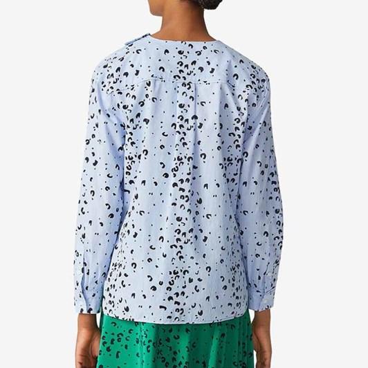KENZO Cheetah Blouse Top