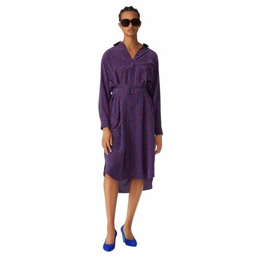 KENZO Micro Camo' Silk Shirt Dress