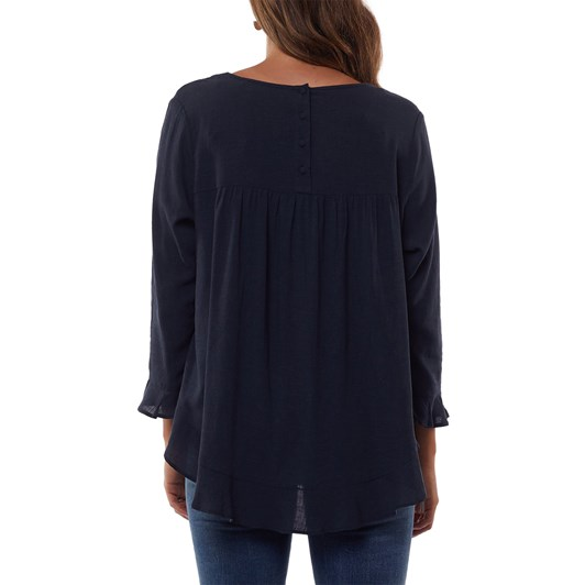 Foxwood Ruffle Top