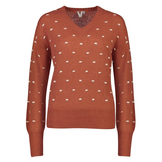 Madly Sweetly Dot Dash Sweater