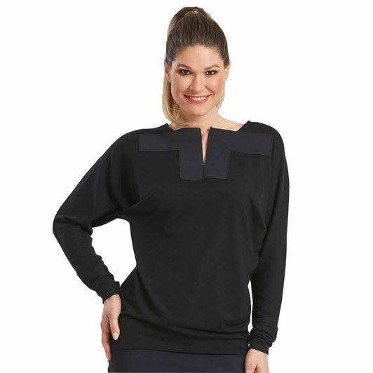 Paula Ryan Sq Neck Magyar Top