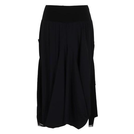 Paula Ryan Mesh Hem Tulip Skirt