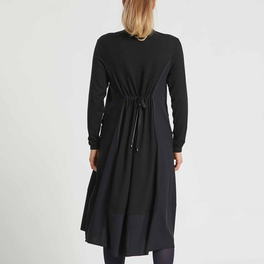 Paula Ryan Rib Trim Dress