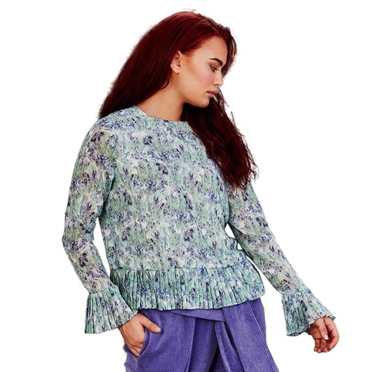Curate Witty Little Pleats Top