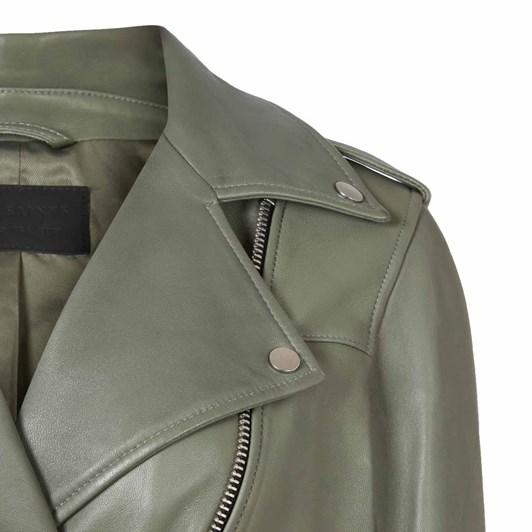 AllSaints Darnley Leather Biker Jacket