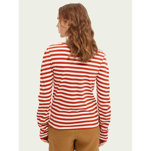 Maison L/S Tee With Rounded Special Sleeves