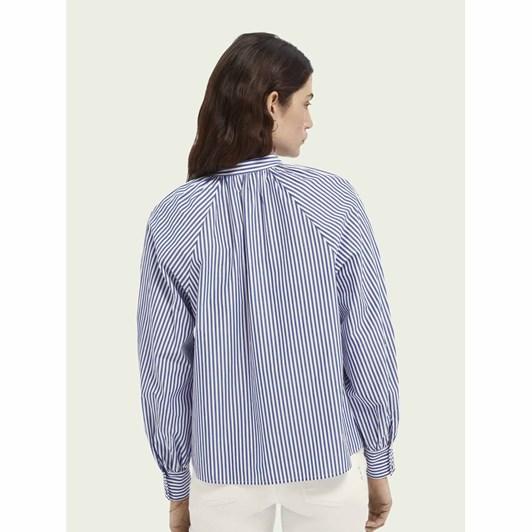 Maison Crispy Organic Cotton Shirt With Gathers