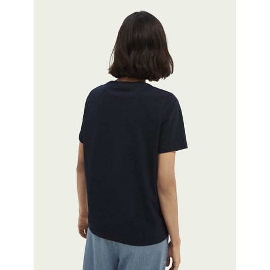 Maison Relaxed Fit Crew Neck Tee