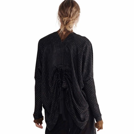 Taylor Pinstripe Variable Sweater