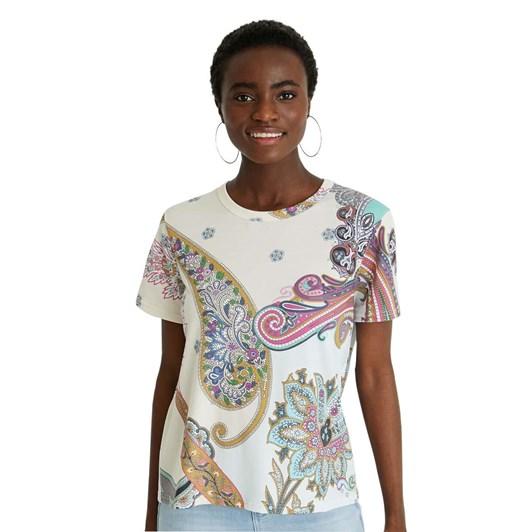 Desigual Paisley T-Shirt