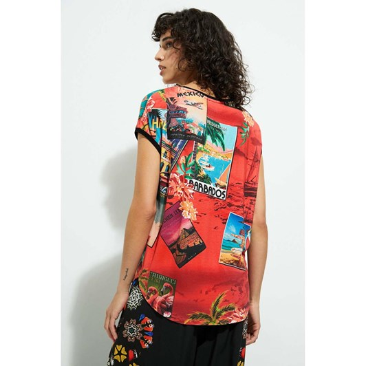 Desigual Colombia T-Shirt