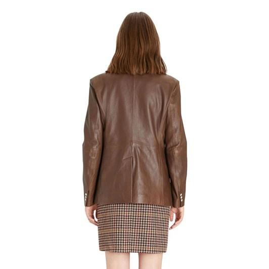 Weekend Max Mara Valdez Leather Jacket