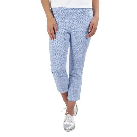 Vassalli Printed Slim Leg 7/8 Length Lightweight Pull On