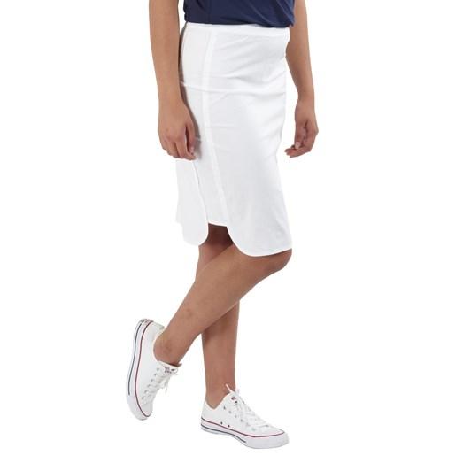 Vassalli Poplin Pull On Comfort Skirt With Side Panel