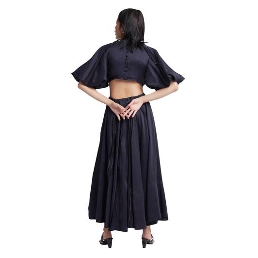 Aje Revitalised Cut Out Midi Dress