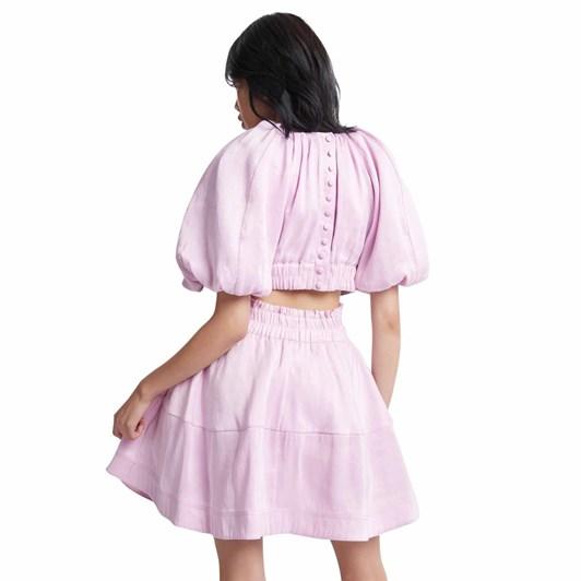 Aje Solitude Cutout Mini Dress