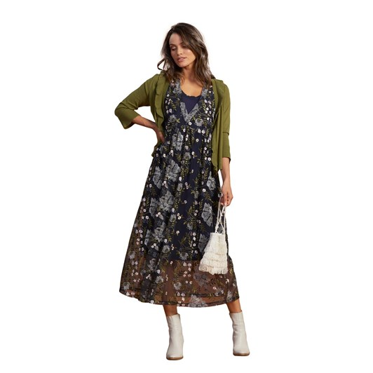 Loobies Story Hydrangea Midi Dress