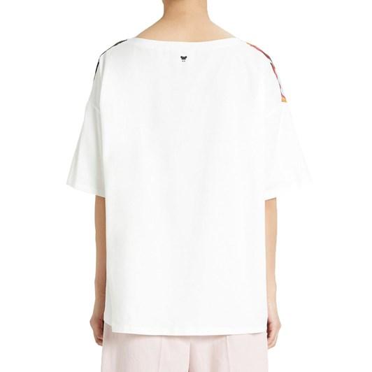 Max Mara Ariete Silk Cotton Top