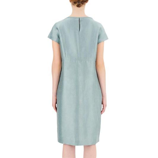 Max Mara Prugna Linen Silk Dress