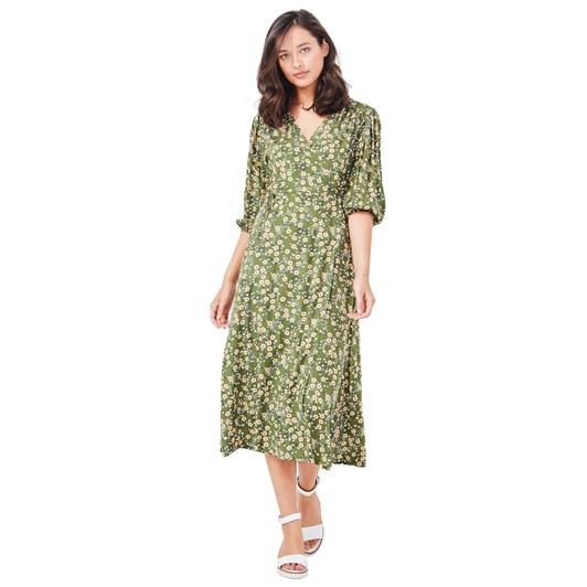 Lemon Tree Amara Wrap Dress