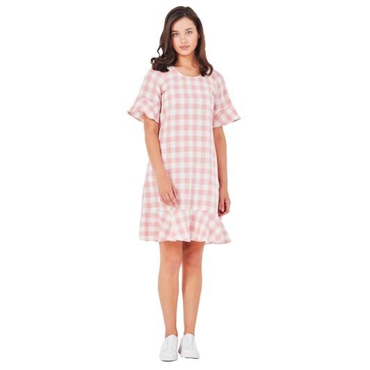 Lemon Tree Gingham Dress