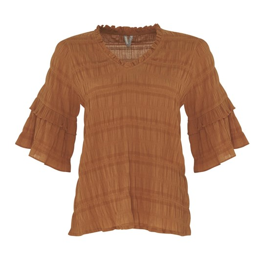 Madly Sweetly Shirred Lines Top