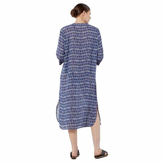 Caroline Sills Samantha Print Dress