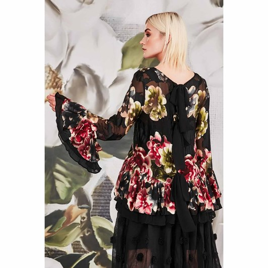 Trelise Cooper A Frill In The Air Top