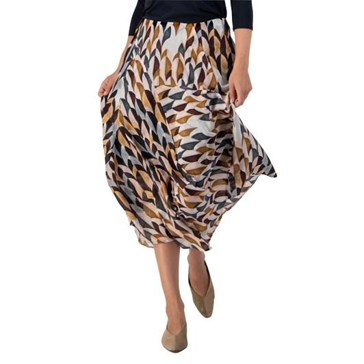 Paula Ryan Panel And Drape Skirt
