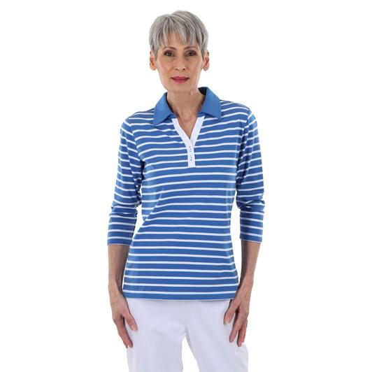 B Essentials Contrast Collar Polo